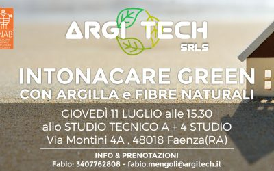 Intonacare Green Con Argilla E Fibre Naturali